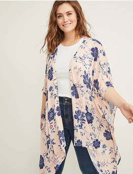 Printed Overpiece by Lane Bryant