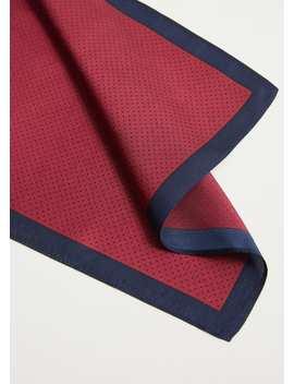 100 Percents Silk Pocket Square by Mango