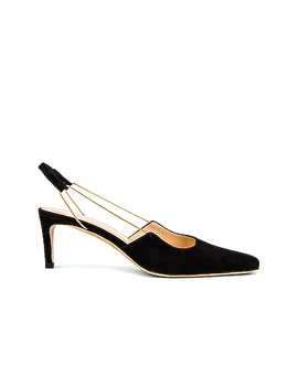 Gabriella Suede Leather Pump by By Far