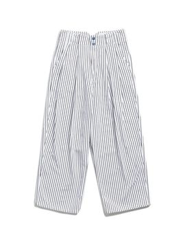 Uo Mack Striped Pleated High Rise Trouser Pant by Urban Outfitters