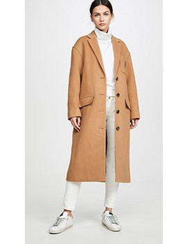 Drop Shoulder Coat by Alexander Wang