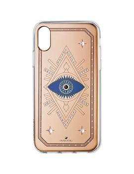 Tarot Eye Smartphone Case, I Phone® Xr, Pink Gold by Swarovski