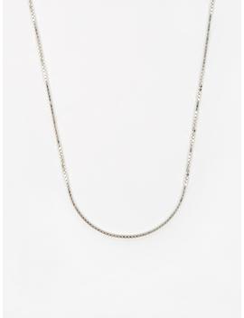 Venetian Chain / Silver / 1.5mm Gauge / 50cm by Goods By Goodhood