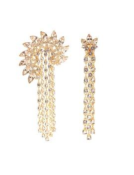 Embellished Clip On Earrings by Oscar De La Renta