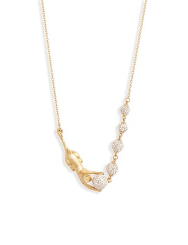 House Cat Pavé Necklace by Kate Spade New York