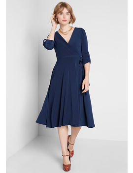 Say Yes To Timeless Midi Dress by Modcloth