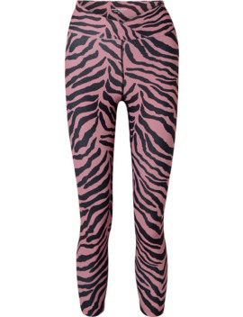 Veronica Stretch Leggings Mit Tigerprint by Year Of Ours