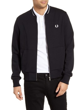 Fleece Track Jacket by Fred Perry