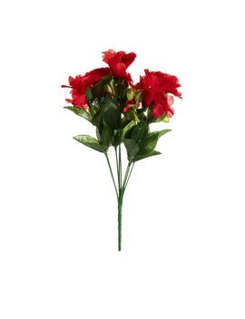 Wilko Red Japonica Bunch Of Artificial Flowers Wilko Red Japonica Bunch Of Artificial Flowers by Wilko