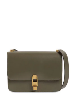 CarrÉ Leather Shoulder  Bag by Saint Laurent