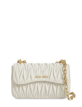 MatelassÉ Leather Shoulder Bag by Miu Miu