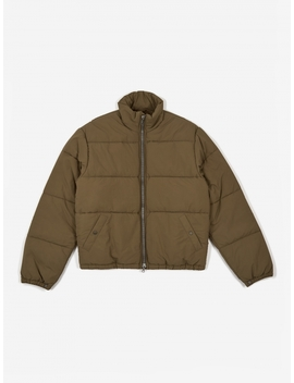 Walrus Puffa Jacket   Olive by Our Legacy