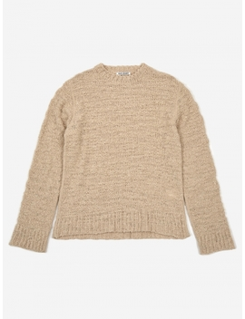 Base Roundneck Jumper   Raw Wool Mix by Our Legacy