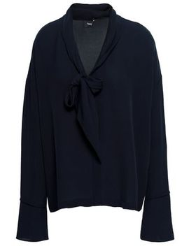 Silk Crepe Blouse by Theory