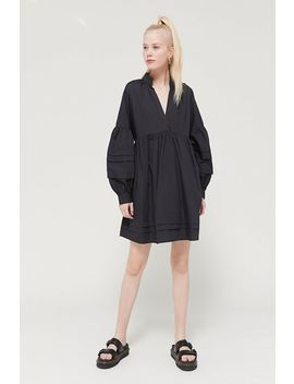 Uo Amelia Long Sleeve Babydoll Dress by Urban Outfitters