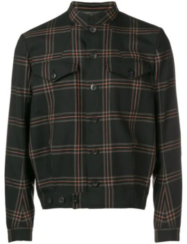 Lydon Check Military Jacket by Paul Smith