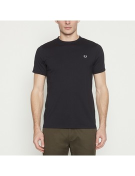 Navy Cotton T Shirt by Fred Perry