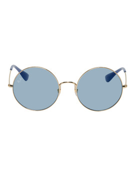 Gold & Blue Ja Jo Sunglasses by Ray Ban