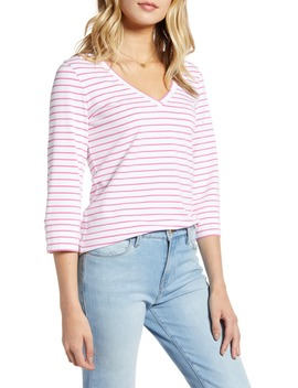 V Neck Top by 1901