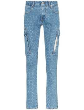 Ternede Skinny Jeans Med Logotryk by 1017 Alyx 9 Sm