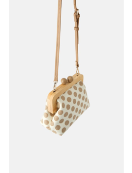 Crossbody Bag With Wooden Kiss Lock Detail View All Bags Woman by Zara