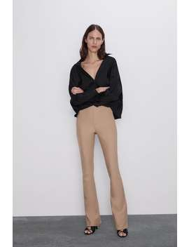 Flared Leggings View All Pants Woman by Zara