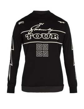 Tour Print Cotton Long Sleeved T Shirt by Givenchy