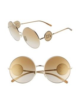 Sicilian Sweet 59mm Round Sunglasses by Dolce&Gabbana