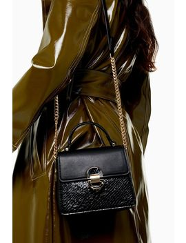 Celia Black Cross Body Bag by Topshop