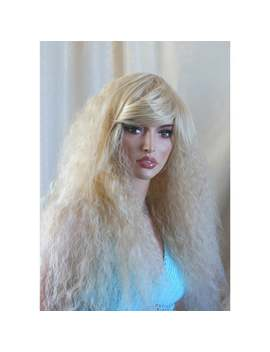 Daenerys Stormborn Inspired Cosplay Wig. Blonde Long Curly Wig. Ready To Ship. by Etsy