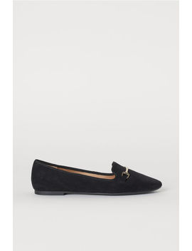 Metal Buckle Ballet Pumps by H&M