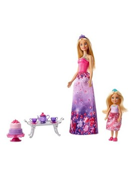 Barbie Dreamtopia Dolls And Tea Party Playset by Barbie