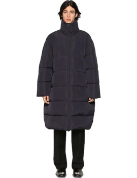 Nylon Long Puffer Coat by Balenciaga