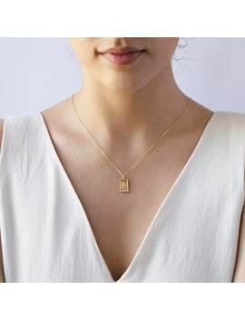 St Christopher Charm Necklace • St Christopher Medal • Gold Square Medallion • Catholic Jewelry • Gift For Women • Saint Necklace by Etsy