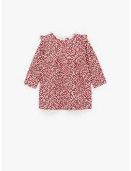 Printed Jacquard Dress New Inbaby Girl by Zara