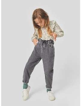 Jeans Paperbag CordÓn Back To SchoolniÑa by Zara