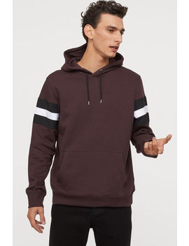 Hooded Shirt With Panels by H&M