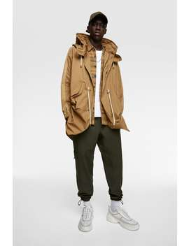 Parka With Removable Hood New Inman by Zara
