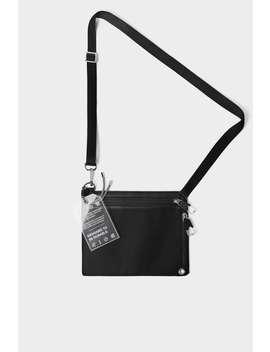 Black Functional Crossbody Bag New Inman by Zara
