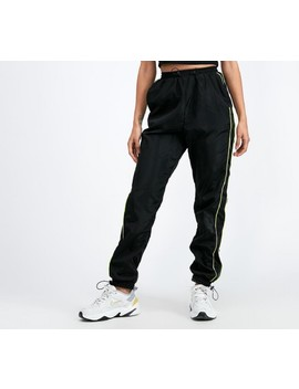 Womens Tech Pant | Black / Neon by Daisy Street