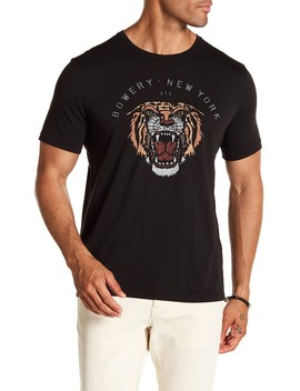 Tiger Print Graphic Tee by John Varvatos Collection