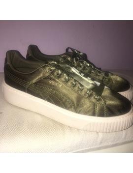 🍸 Puma Satin Platform Sneaker 🍸 by Puma