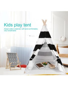 Vbestlife Kids Teepee,Kids Teepee Children Game Playhouse Tent Portable Outdoor Play House 120*120*145cm by Vbestlife