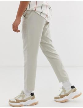 Pantalones De Sastre Beis Arvid De Weekday by Weekday