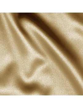 Telio Tahari Stretch Satin Beige Fabric by Fabric