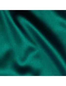 Telio Tahari Stretch Satin Teal Fabric by Fabric