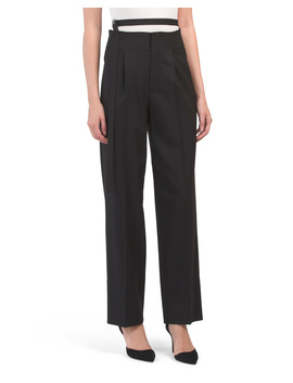 High Waist Relaxed Pants by Tj Maxx