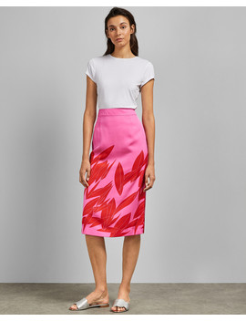 Sour Cherry Midi Skirt by Ted Baker