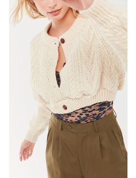 Urban Renewal Recycled Fisherman Cardigan by Urban Renewal
