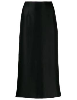 Satin Slip Skirt by Vince